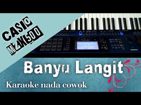 Karaoke Banyu Langit Nada Cowok - CASIO MZ-X500