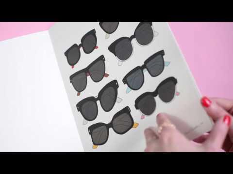 Fashionista – Poster book Flip Through