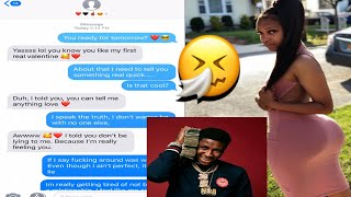 NBA Youngboy - Gangsta Fever LYRIC PRANK ON MY VALENTINE 😍🖤 (SHE MIGHT BE THE ONE)