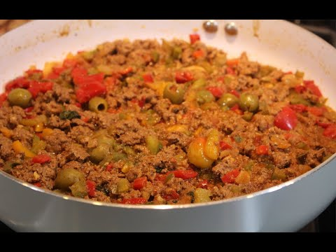 Picadillo Cuban Style | Ground Beef Recipes | My Secret Cuisine