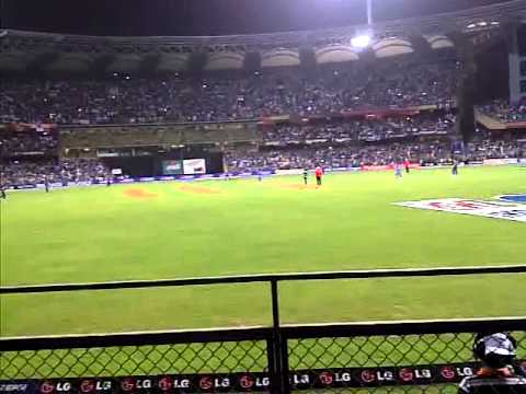 final moments  six by m s dhoni cricket world cup final 2011