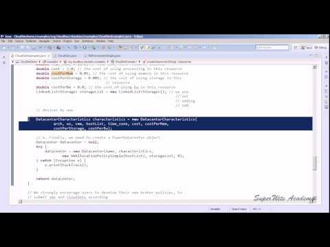 Cloudsim Tutorial: CloudSimExample Step by Step Working (Part 3)