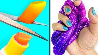 1 INGREDIENT SLIME 💦 ONLY With Water - CRAZY No Borax Recipes!