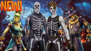 *NEW* Fortnite HALLOWEEN SKINS/ITEMS LEAKED! - Skins, Emotes & MORE! (Fortnite Battle Royale)