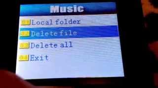 HOW TO DELETE A SONG FROM YOUR MP3