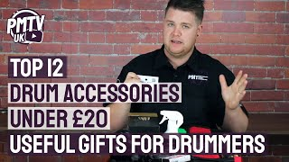 Top 12 Drum Accessories Under £20   Useful Gifts For Drummers