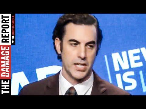 Sacha Baron Cohen SLAMS Silicon Valley