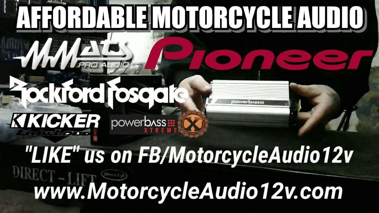 MOTORCYCLE AUDIO by Motorcycle Audio & 12v Accessories - YouTube