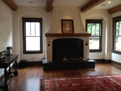 Wooden Fireplace Mantels Youtube