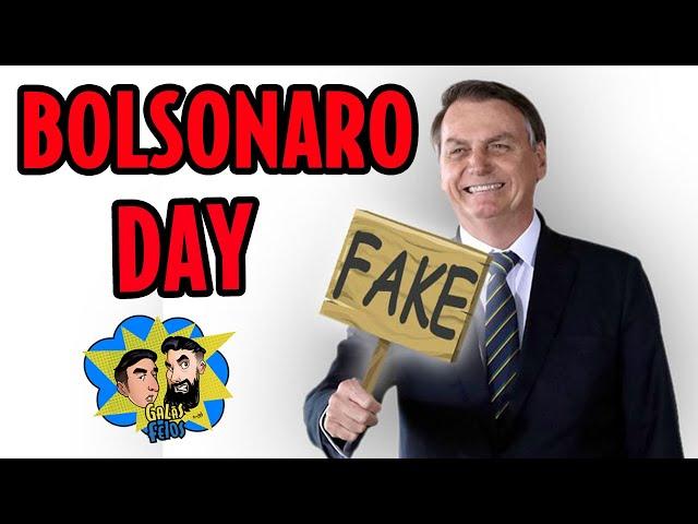 Bolsonaro antecipou dia da mentira com pronunciamento | Galãs Feios