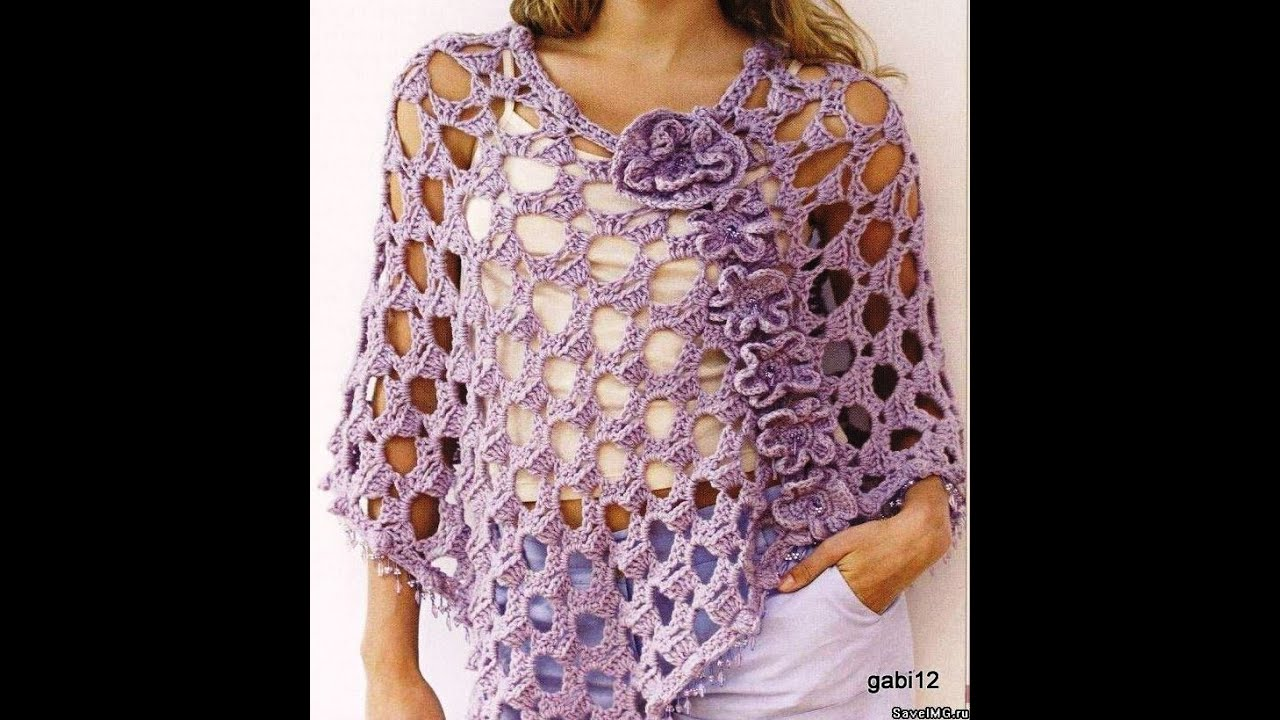 Crochet Shawl Free Crochet Patterns 539 Youtube