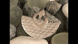 Silver Metal Clay Pendant - Tutorial