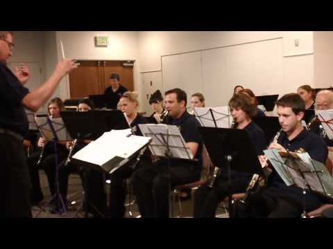 Mile High Community Band plays The Wrong Note Rag in Golden, Colorado 442013