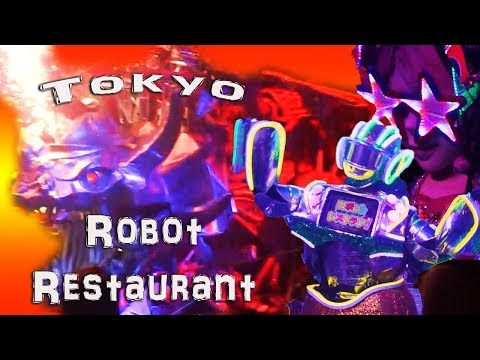 2018 Robot Restaurant Tokyo (Robot Fighting Cabaret Show)