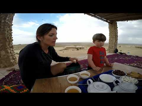 Family Travel Uzbekistan. Family Russell-Smith Travel. Desert, Forts, Camels 🐫 Camping In A Yurt