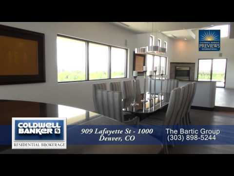 909 Lafayette St, Unit 1000, Denver, Colorado, Luxury Penthouse Condo for Sale