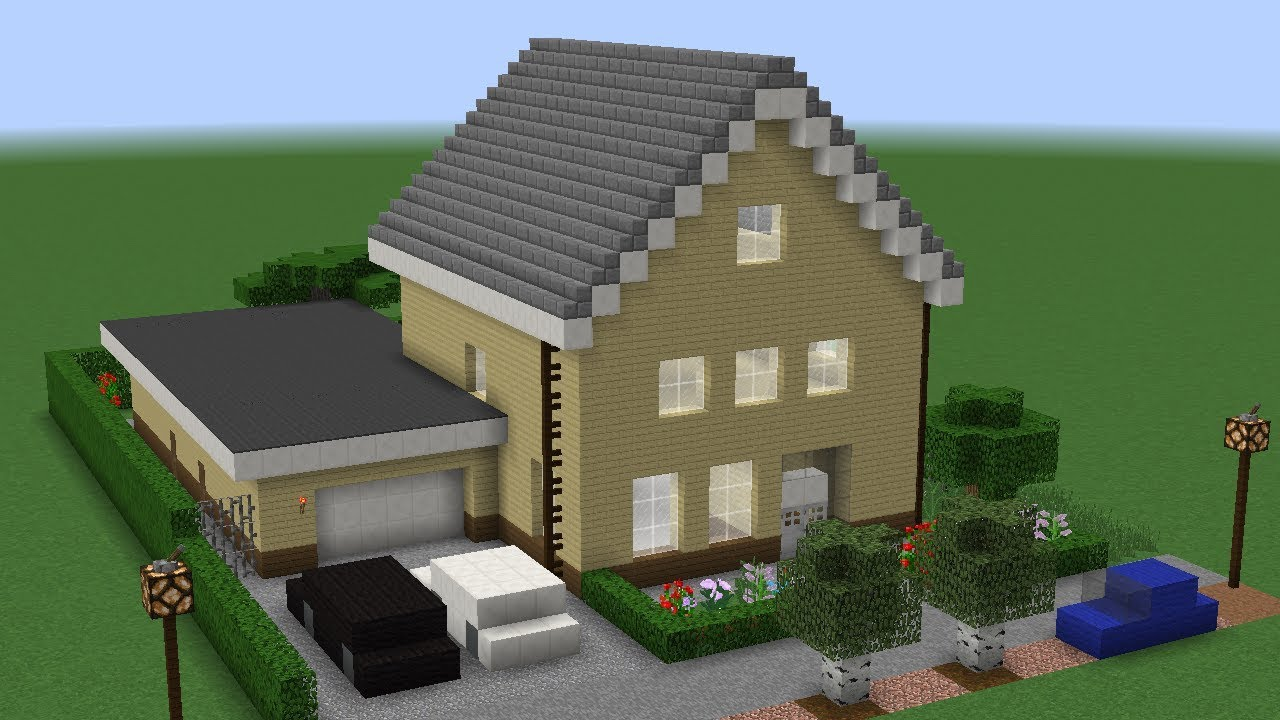 BUILDING OUR REAL LIFE HOUSE IN MINECRAFT!
