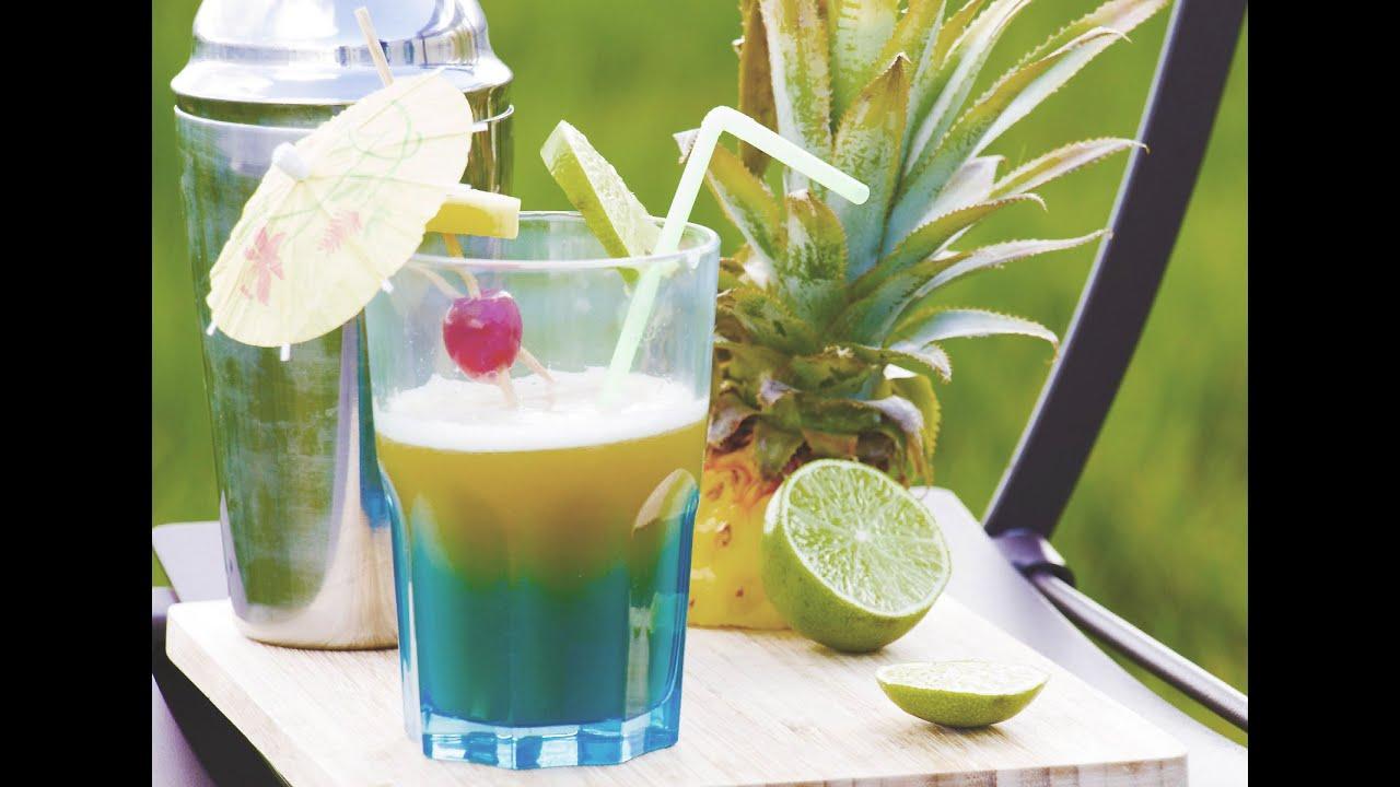 Cocktail sans alcool virgin bora bora au jus d 39 ananas et for Cocktail jus de fruit