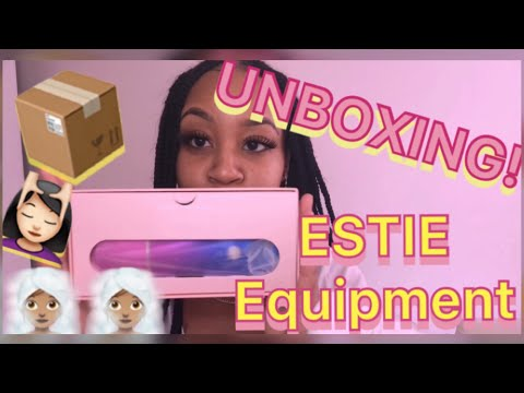 UNBOXING 📦 Affordable (Travel) Esthetician Equipment Pt. 1