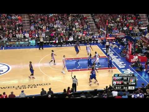 Detroit Pistons vs Philadelhia 76ers | March 29, 2014 | NBA 2013-14 Season