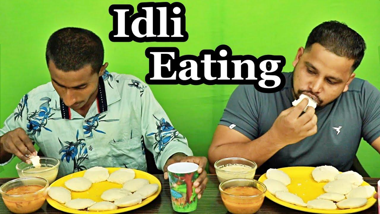 SOUTH INDIAN IDLI EATING CHALLENGE