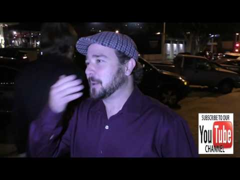 Bradley Pierce talks about his divorce and the new Jumanji movie outside Craig's Restaurant in West