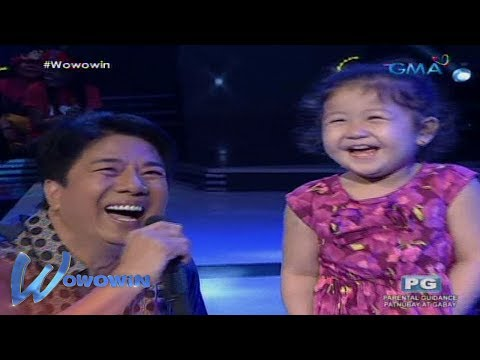 Wowowin: Cute na bata, pinasaya si Willie Revillame