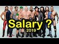 Top 10 WWE Salaries 2019 | Highest Paid Wrestlers / Superstars prediction Latest predictions