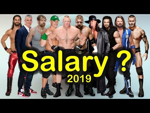 Top 10 WWE Salaries 2019 | Highest Paid Wrestlers / Superstars Prediction (Latest Released)