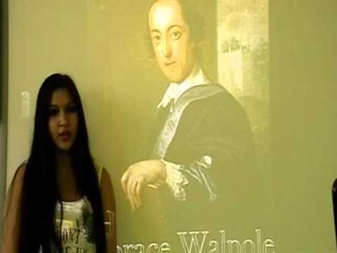 Etwinning project  Horace Walpole