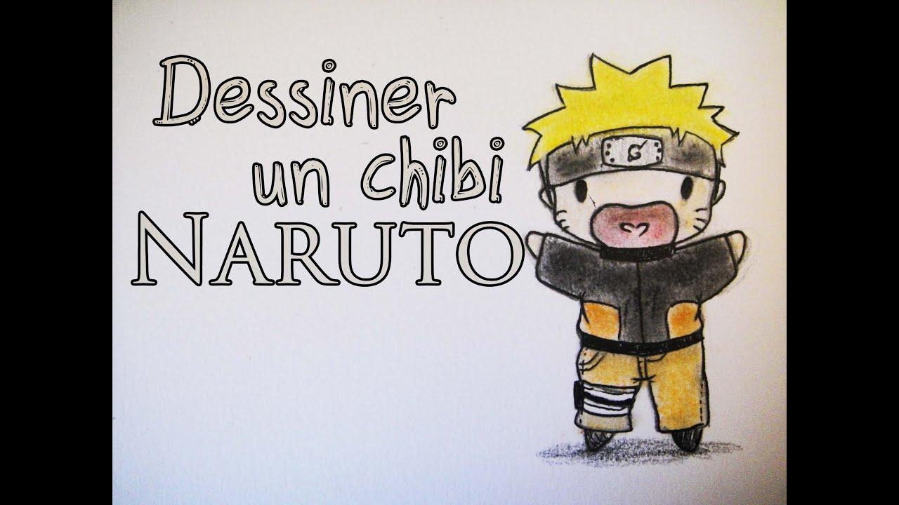 Tutoriel comment dessiner un chibi naruto fr youtube - Naruto facile a dessiner ...