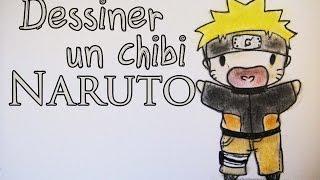|TUTORIEL| Comment dessiner un chibi Naruto |FR|