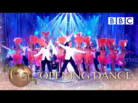 Gloria Estefan and the Strictly pro dancers - BBC Strictly 2018