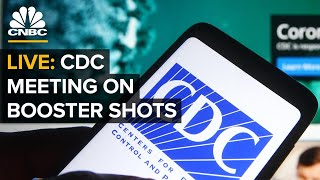 WATCH: CDC officials hold meeting to discuss Covid-19 vaccine booster shots — 8/13/21