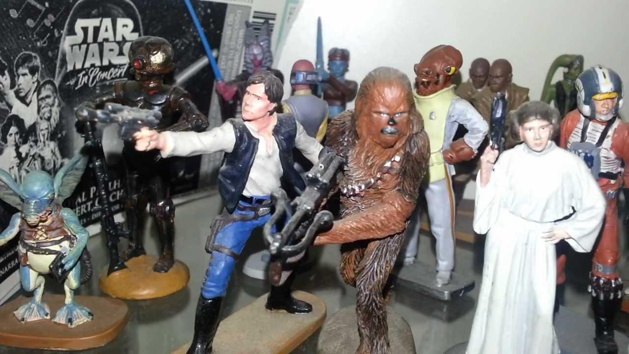 Star Wars Collection Figures Coleccion Figuras De Plomo Planeta De Agostini