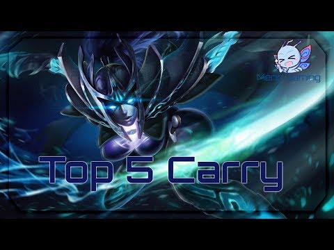 Dota 2 - Top 5 Carry that can boost your mmr in [1K to 3K ]