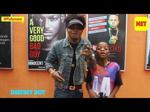 Meet Destiny Boy, the 13 year old fuji sensation who is taking the world one pop song at a time.