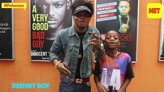 Meet Destiny Boy the 13 year old fuji sensation who is taking the world one pop song at a time