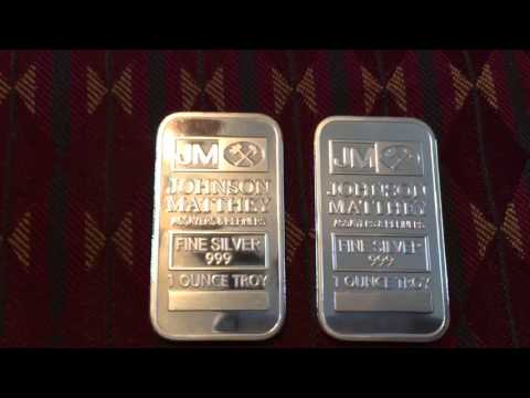 Fake JM silver bars - eBay - Part 1