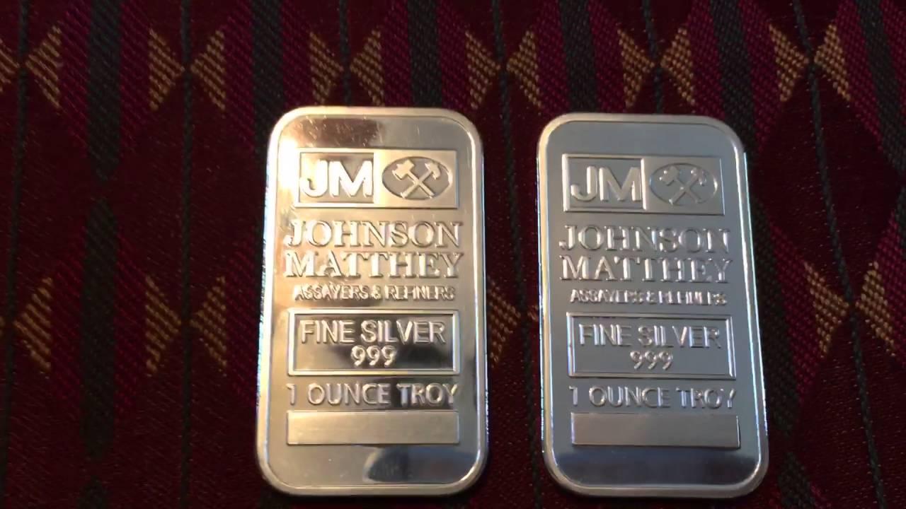 Fake Jm Silver Bars Ebay Part 1