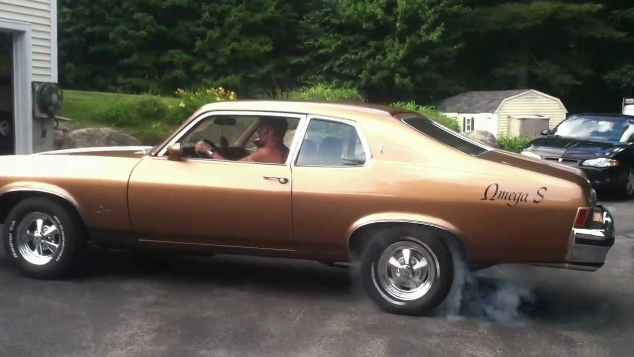 S10 Chevy For Sale 1974 Oldsmobile Omega Burnout - YouTube