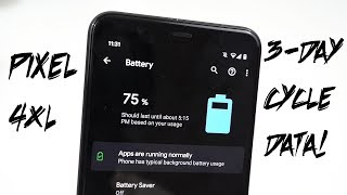 Pixel 4 XL: Detailed Battery Life Review After 3 Days!