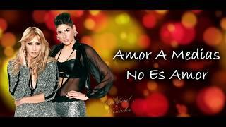 Amor A Medias Ha Ash Letra Youtube