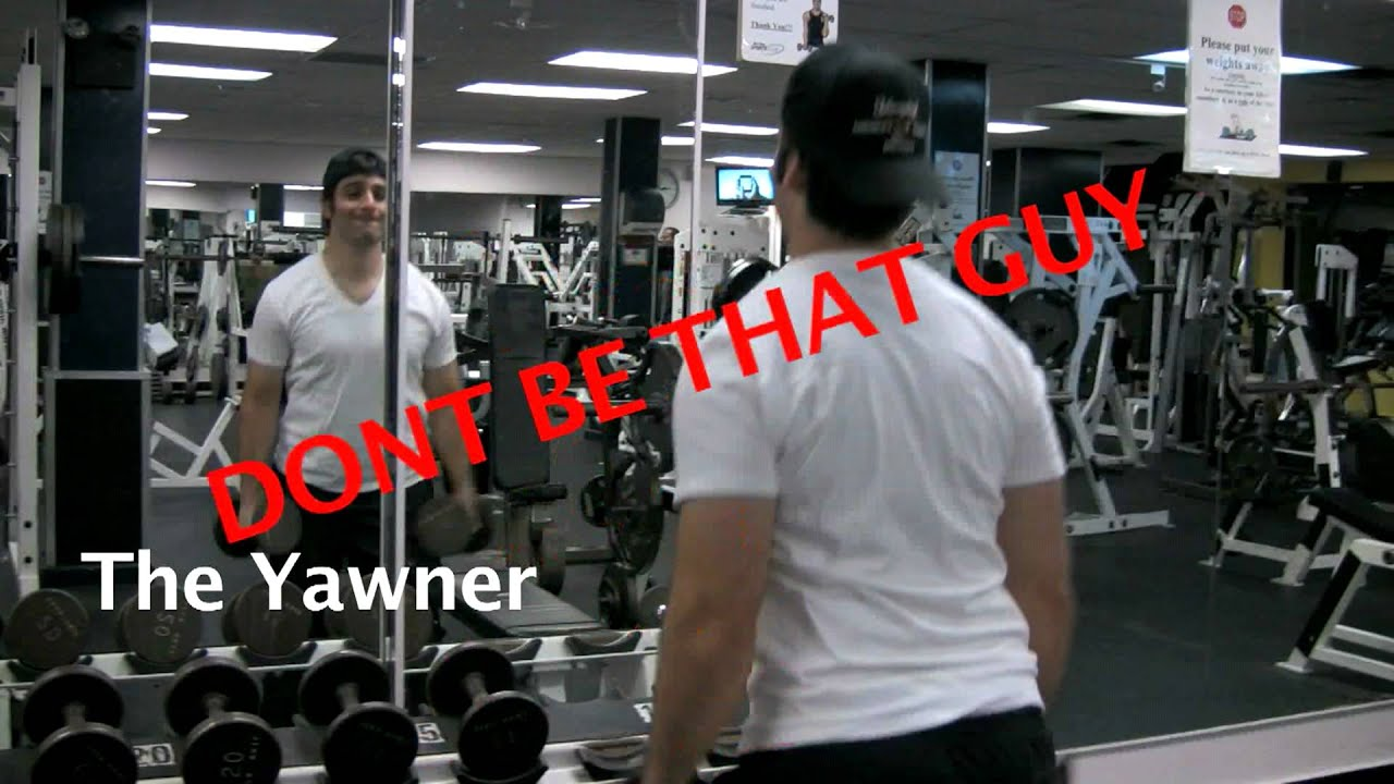 Don't be that guy in the gym recommendations