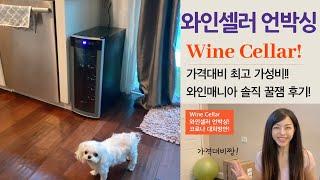 와인셀러 추천 언박싱! 와인매니아가 직접고른 코로나꺼져…
