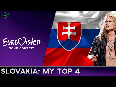 Slovakia In Eurovision: MY TOP 4 (2009-2012)