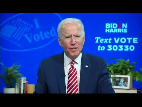"Joe Biden brags about having ""the most extensive and inclusive VOTER FRAUD organization"" in history."