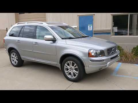 2013 Electric Silver Metallic /Light Beige Leather Volvo XC90 3.2 AWD (YV4952CZ0D1) with an 3.2L L6 DOHC 24V engine, 6-Speed Automatic transmission, located at 603 Amelia Street, Plymouth, MI, 48170, (734) 459-5520, 42.378841, -83.464546 - Photo #0