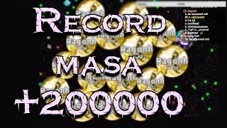 RECORD DE MASA EN AGAR.IO +200000
