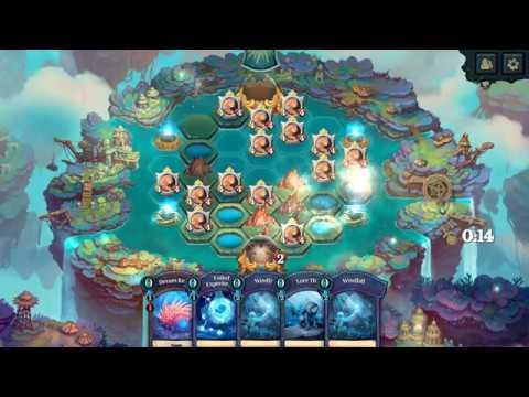Faeria Ignus OTK deck gameplay |